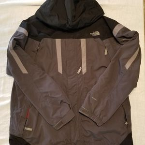 The North Face Men's Gray and Black XL Vortex Tric